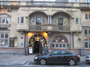 The Philharmonic, one of the most famous pubs in the country.