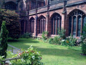The Garden inside the Cathedral.