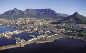 Capetown with Table mountain - back on the agenda.
