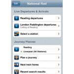 National Rail Enquiries in your pocket. A lot better than calling India for train times.