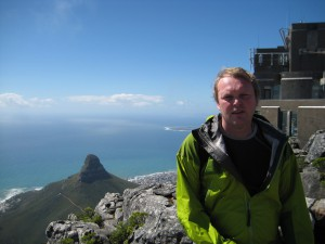 Me at the top of table mountain.