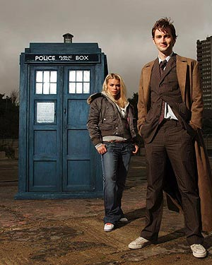 David Tennant as Dr Who.