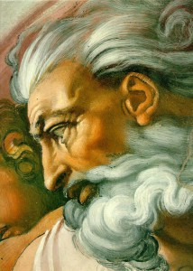 """A picture of """"God"""" I got from the BBC website."""