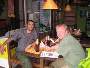 Dan and I after walking Machu Picchu