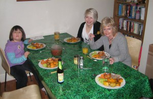 Sunday Lunch at Matts House.