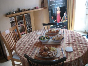 """My """"propper"""" Sunday Lunch (the Gravy hadnt arrived at that point)."""