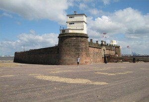Fort Perch Rock.