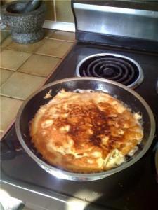 A 3 egg omlet