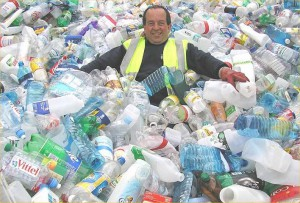 Recycling - actualy, the chap in this picture, looks like Franceso, who I used to work for.