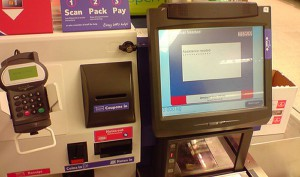 Tesco Automated check-out.