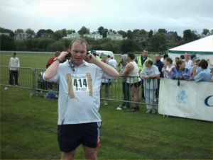 Trip down memory lane, me running the Cheshire Corporate Challenge.