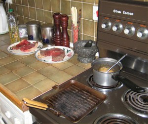 Steak Preperation.