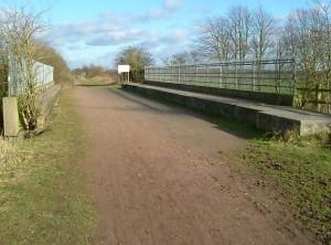 Walking back to Warrington along the Trans Penine Trail.
