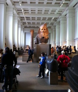 The Egyptian section of the British Museum