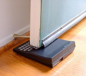 ZX81 used as a doorstop.