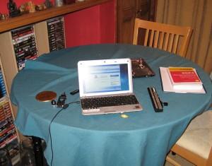 Repairing Rob's Netbook.