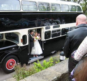 The Wedding Bus.