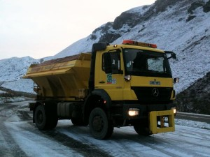 An actual working Council Gritter ! (thanks Aled).