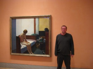 The Thyssen-Bornemisza museum, next too, Hotel room.