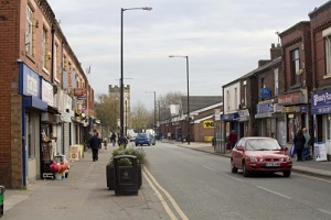 Church Street in Newton Heath, east Manchester, the place I grew up.