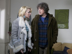 Jonathan Creek back in his duffle coat