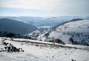 Llangollen in the Snow.