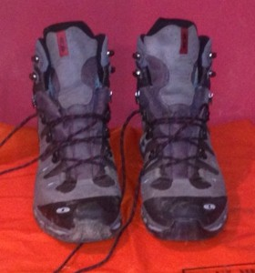 My new Salomon Quest boots. The best walking boots I've ever owned