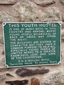 Original goal of youth hostels