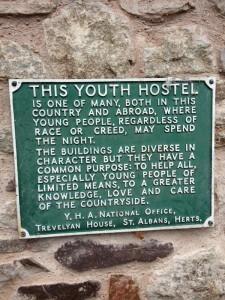 Original goal of youth hostels