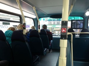 The adventure continues with a bus ride to the Wirral