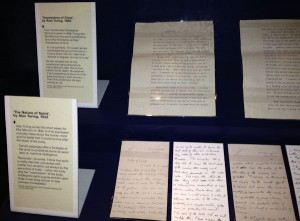 Letters written by Turing
