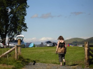 Bishops castle campsite