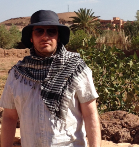 Glenn in  Morocco