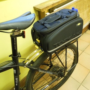 My new panniers