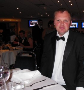 Me in my dinner jacket