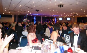The revellers at the summer ball I attended