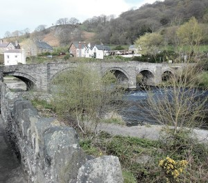 Carrog bridge.