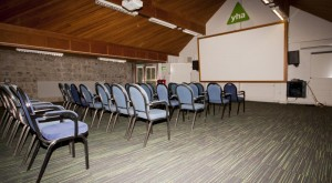 The meeting room at the YHA