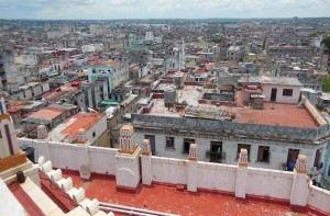 View of Havana from the Bacardi building