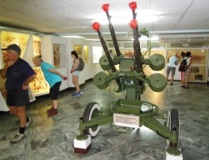Anti aircraft gun