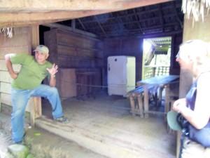 Fidel Castro's hideout