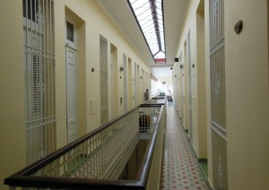 Our hotel in Camaguey, like a prison