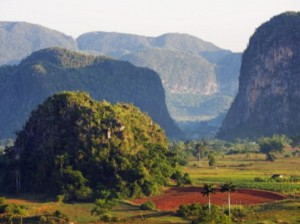 Sugar loaf mountains of Vinales