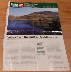 Trail magazine article