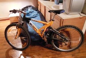 My full suspension bike