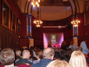Jon Lydon at Chester town hall