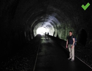 One of the Monsal trail tunnels