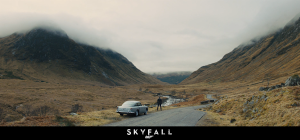 Scene from the James Bond film Skyfall