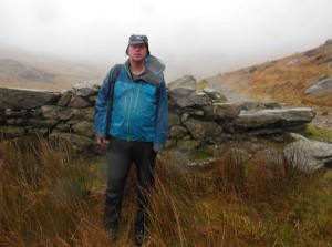 Snowdon in the rain