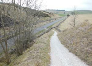 Walking back to Buxton